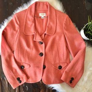 TALBOTS Wool Blazer Jacket Women's 8 EUC